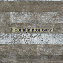 Horizontaal stroken hout behang BN Wallcoverings behang