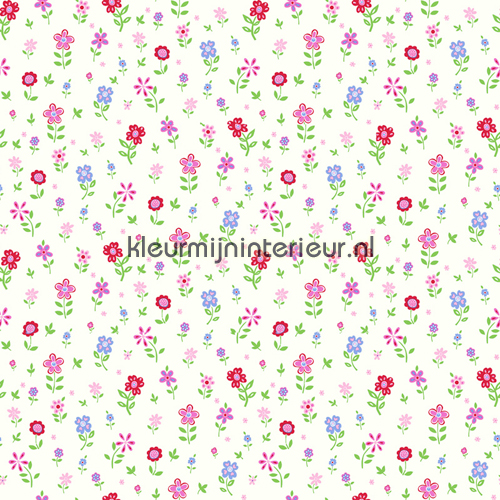 bloementuintje behang 137319 Baby - Peuter Esta home