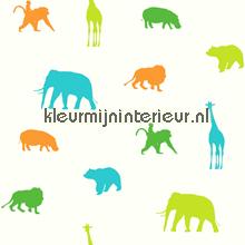 aparte jungle dieren tapet Esta home Giggle 137335