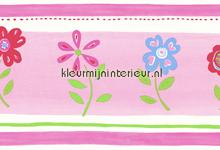 Bloementuintje rand papel pintado Esta home Wallpaper creations