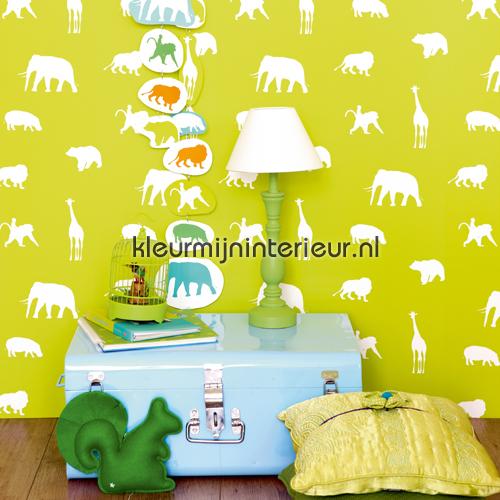 aparte jungle dieren behang 137336 Baby - Peuter Esta home