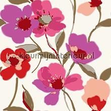 Fresh flowers papier peint Esta home Ginger 128029