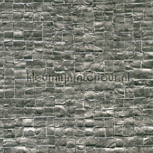 Glass mosaic grijs papel de parede Elitis Glass VP-640-05