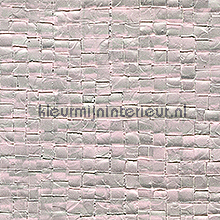 Glass mosaic grijs roze papel de parede Elitis Glass VP-640-14