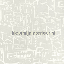 Ibiza houses tapet Eijffinger Vintage Gamle