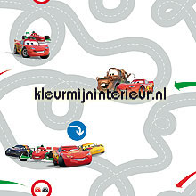 Cars Racetrack wallcovering Noordwand urban