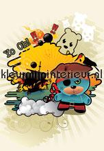 Pirate bear papel pintado Noordwand Little Ones 414035