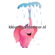Happy Dumbo papel pintado Noordwand Little Ones 414042