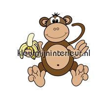 My monkey papel pintado Noordwand Little Ones 414046