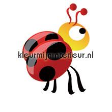 Ladybird papel pintado Noordwand Little Ones 414047