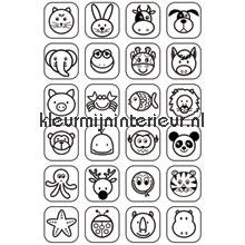 Symbols papel pintado Noordwand Little Ones 42056