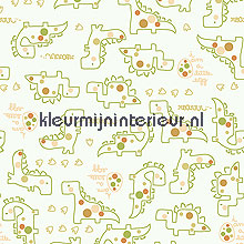 Dino papel pintado Noordwand Little Ones 42001