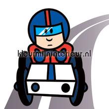 Drive trough fototapet Noordwand teenagere