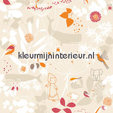 Autumn wishes papel pintado Noordwand Little Ones 415060