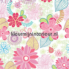 Delicate floral papel pintado Noordwand Little Ones 42070