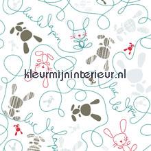 Doodle scribble papel pintado Noordwand Little Ones 42083