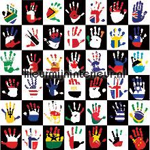 National hands papel pintado Noordwand Little Ones 42030