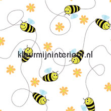 Free bee photomural Noordwand Little Ones 42045