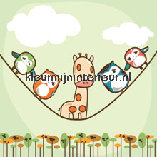 Vertical rope papel pintado Noordwand Little Ones 416053