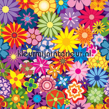 Flower bed papel pintado Noordwand Little Ones 416059
