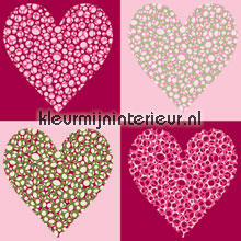 Hole in my heart papel pintado Noordwand Little Ones 42074