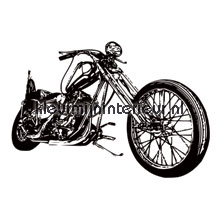 Cool motorbike fototapet Noordwand teenagere