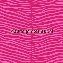 Zebra print roze behang Esta home Love 136805