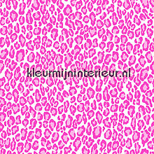 Panterprint roze behang Esta home Love 136809