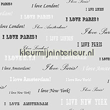 I love New York behang Esta home Love 136829
