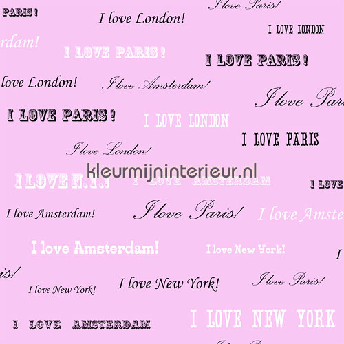 I love New York behang 136831 aanbieding behang Esta home