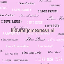 I love New York behang Esta home Love 136831