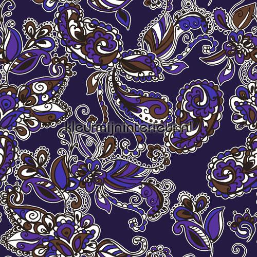 Cashmir paars behang 136843 aanbieding behang Esta home