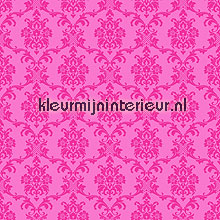 Klassiek motief roze behang Esta home Love 136848