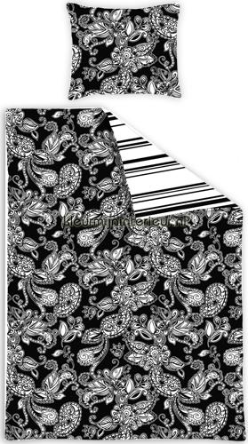 Love black & white dekbed stoffer 156801 dynebetræk Esta home