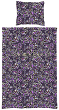 Love purple dekbed cortinas Esta home tampa do duvet