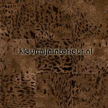 Panthère bruin tapeten Elitis Memoires VP-653-04