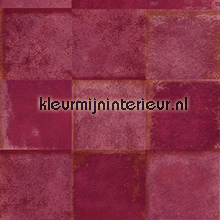 Loup warm roze wallcovering Elitis urban