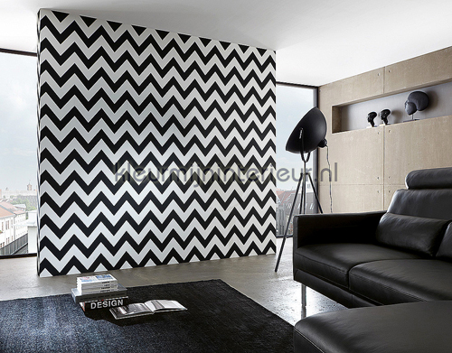 Zigzag lines behang 93943-1 High Rise AS Creation