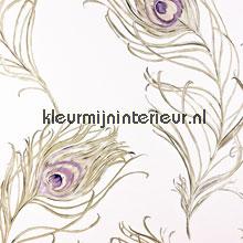 Peacock tapet Prestigious Textiles Neo 1938-153