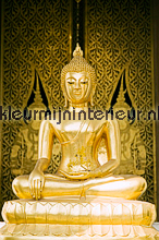 Buddha gold fotobehang BN Wallcoverings No Limits 30027