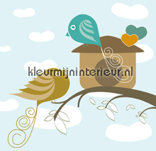 Bird Crush fototapeten Dutch Wallcoverings Olly OL13051