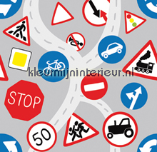 Traffic Signs fototapeten Dutch Wallcoverings Olly OL13052