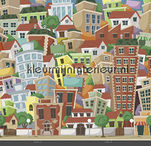 City Life fototapeten Dutch Wallcoverings Olly OL13066