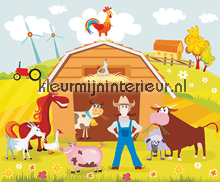 Farmville fototapeten Dutch Wallcoverings Olly OL13073