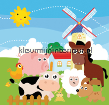 Windmill Town fototapeten Dutch Wallcoverings Olly OL13079