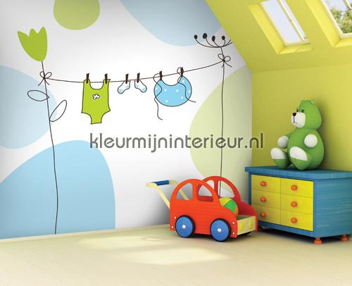 Bambino fotomurales OL13057 Olly Dutch Wallcoverings