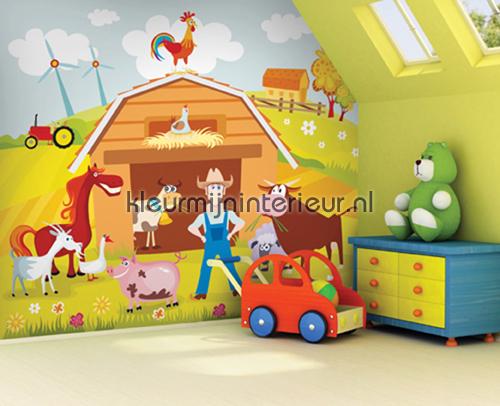 Farmville fotomurales OL13073 Olly Dutch Wallcoverings