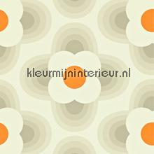 Striped petal carta da parati Harlequin Orla Kiely 110403