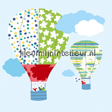 HOT AIR BALLOONS stickers interieurstickers York Wallcoverings Baby Peuter