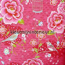pip vogels, bloemen en kooitjes papier peint Eijffinger PiP Wallpaper II 313011